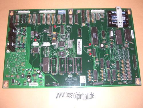 CPU Board Stern [520-5300-00] - €349 99 - bestofpinball com